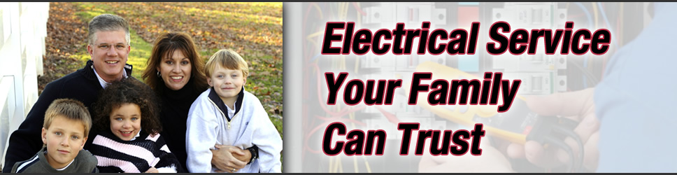 Chicagoland electrician, North Suburban Electric, banner 4
